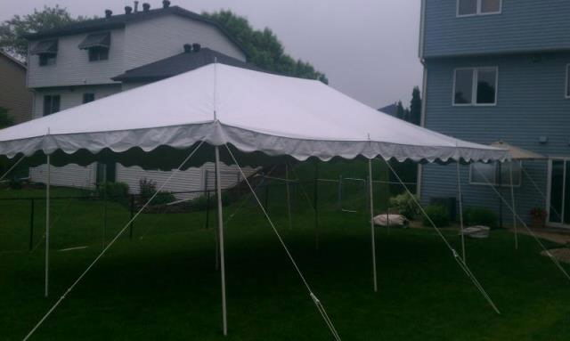 Where to find CANOPY 20  X 30  APC White in Burnsville