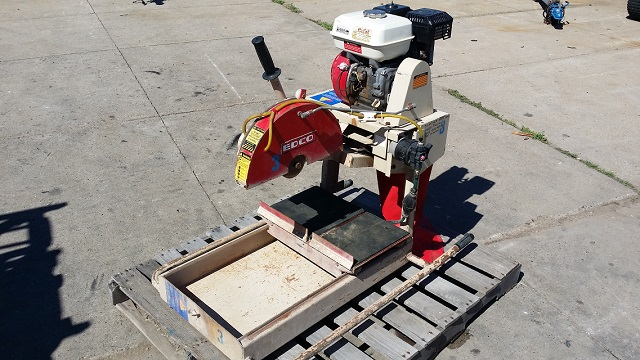 Where to find Paver Saw 14  5 Hp Gas in Burnsville