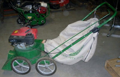 Where to find Lawn Vacuum Billy Goat 5 HP Ga in Burnsville