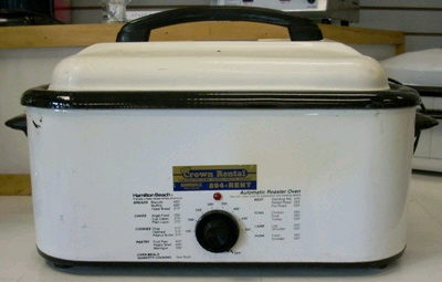 Where to find Roaster Oven Elec. 18 Qt. in Burnsville