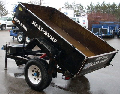 Dump Trailer Single Axle 2000l Rentals Burnsville Mn