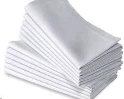 Where to find LINEN - Napkin White POLY in Burnsville