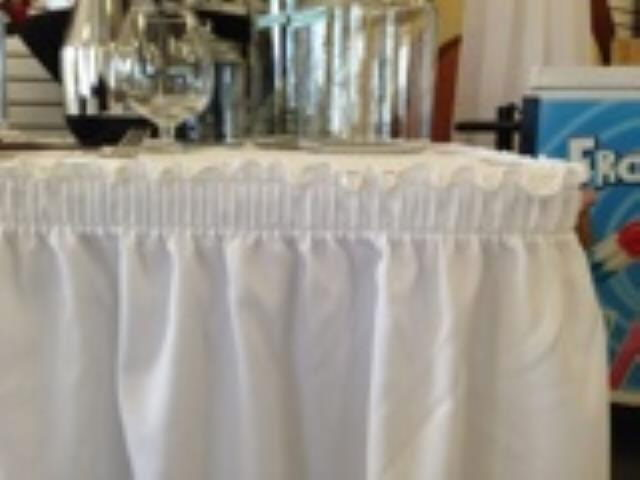 Where to find LINEN - Skirting - WHITE 29 X13 in Burnsville