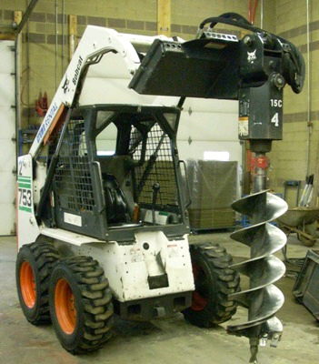 Where to find SKID STEER S450 W AUGER in Burnsville
