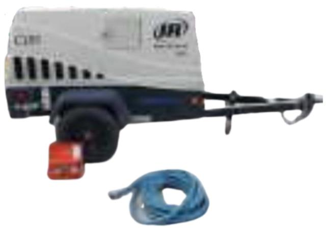 Where to find Air Compressor W Blowout Kit 185cfm in Burnsville