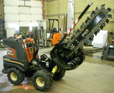 Where to find TRENCHER 4 X36  ZAHN KIT in Burnsville