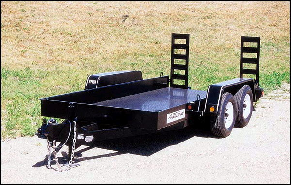 Where to find TRAILER - TRACTOR 16  4000lb in Burnsville