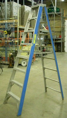 Where to find Ladder 8 Ft Aluminum Step in Burnsville