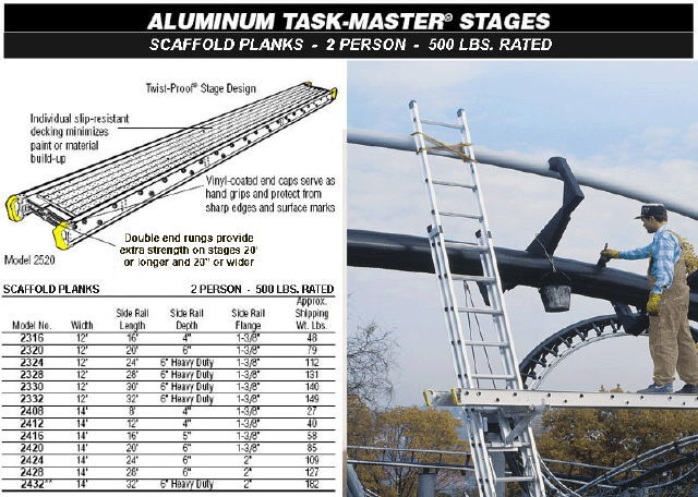 Where to find Ladder Plank 14  X 20  Aluminu in Burnsville