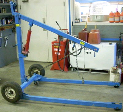 Engine Hoist 1500lb Towable Rentals Burnsville Mn Where