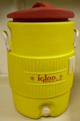 Where to find Cooler Dispenser Yellow 5 Gallon in Burnsville