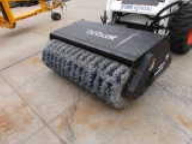 Skid Steer Sweeper Attachment 60 Inch Rentals Burnsville