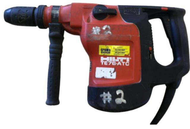 hilti core drill instructions