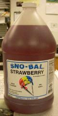 Where to rent Sno-Kone Syrup Strawberry  1 G in Burnsville MN