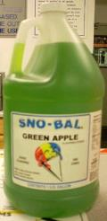 Where to rent Sno-Kone Syrup Sour Apple in Burnsville MN