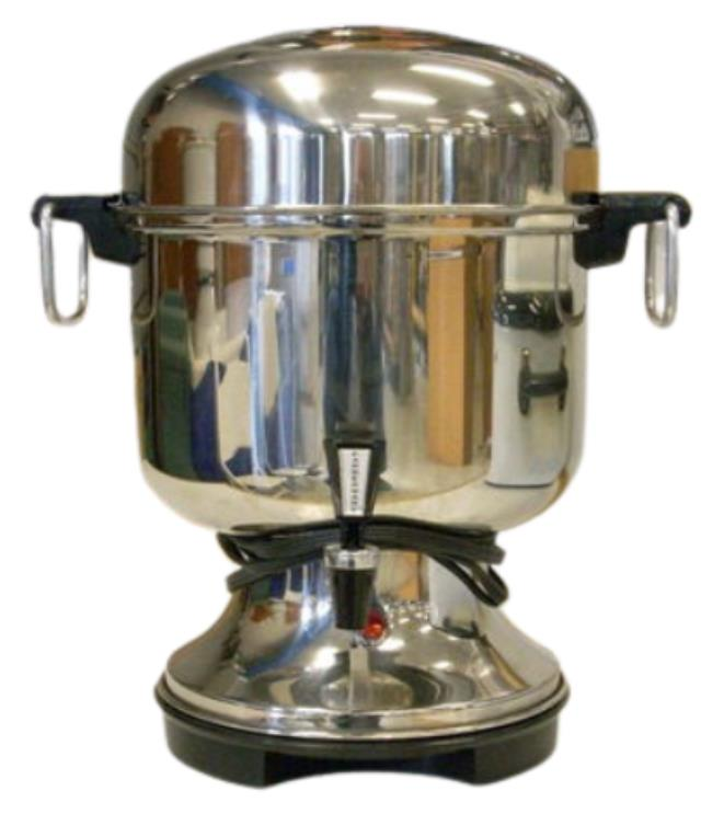 Where to find Coffee Urn 36 Cup Silver in Burnsville