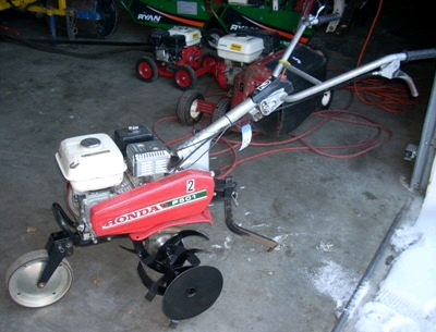 Where to find Tiller - Mid Tine 5 Hp 24 in Burnsville