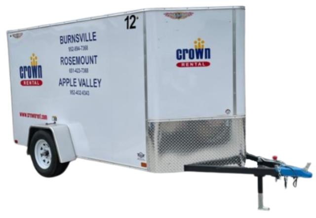 Where to find TRAILER - Enclosed 10 Ft 1500lb in Burnsville