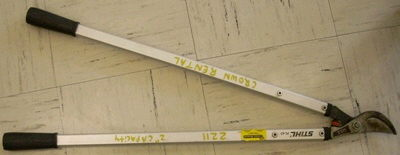 Where to find Branch Lopper Manual 2  CAP. in Burnsville