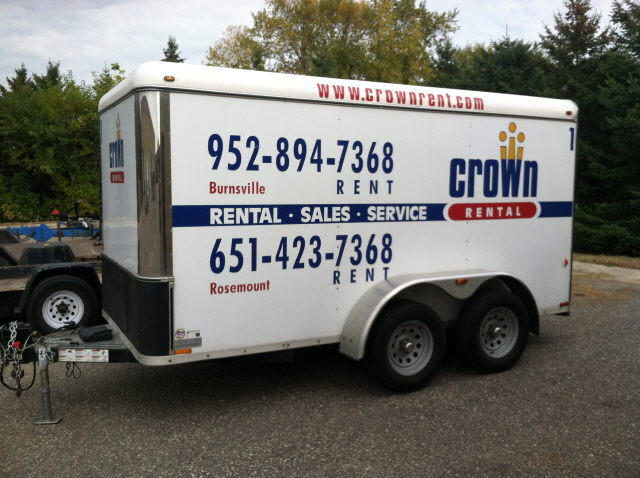 Where to find TRAILER - Enclosed 12 Ft 3500lb in Burnsville
