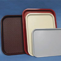 Where to find Tray, Serving Brown Plastic in Burnsville