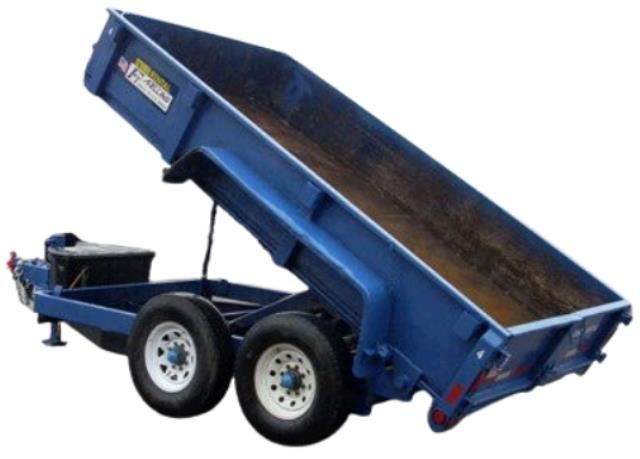 Where to find Trailer - Dump Dual Axel w  Electric in Burnsville
