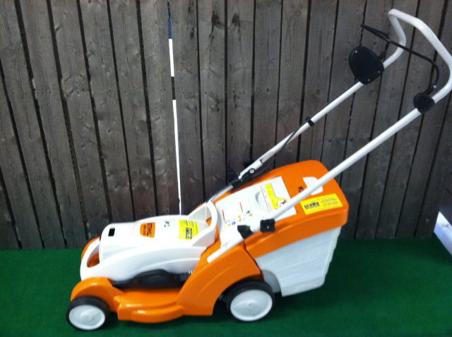 Where to find LAWN MOWER, BATTERY POWERED in Burnsville