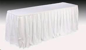 Where to find LINEN - Skirting - WHITE 29 X21 in Burnsville