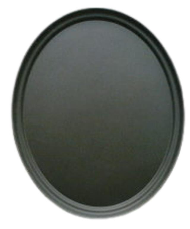 Where to find Tray, Serving 27  Oval Black Plastic in Burnsville