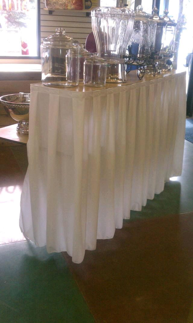 Where to find BARTOP SKIRTING - WHITE in Burnsville