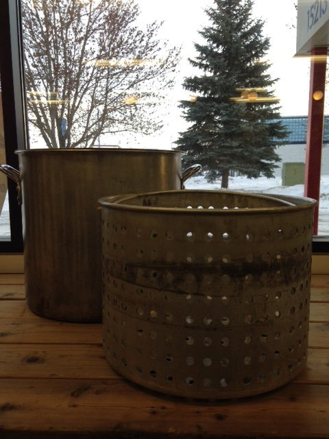 Where to find Stock Pot W Lid   Basket 60 Qt. SS in Burnsville
