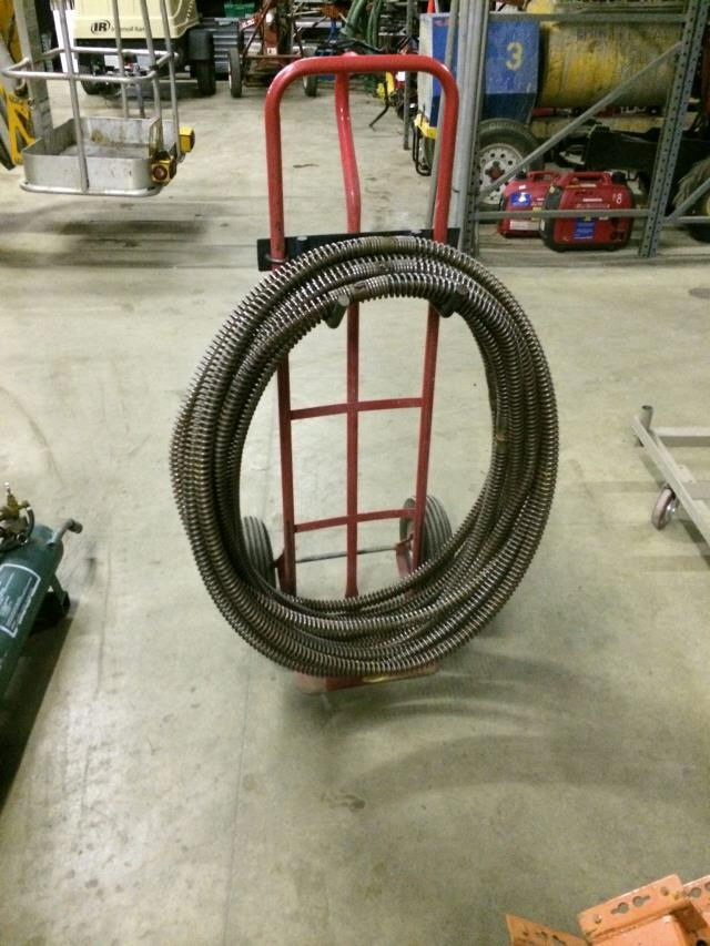 Sewer Cable 8 Foot Section Rentals Burnsville Mn Where To