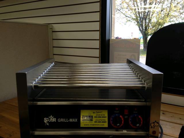 Hot Dog Medium Roller Grill Rentals Burnsville Mn Where