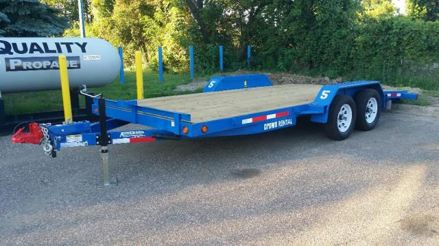 Where to find Car Trailer 18  W Tail 4000lb in Burnsville