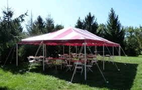 Where to find CANOPY 20  X 30  APC Red White in Burnsville
