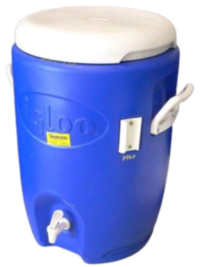 Where to find Cooler Dispenser Blue 5 Gallon in Burnsville