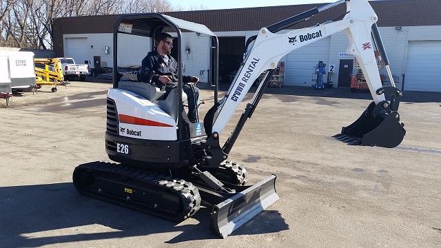 Where to find EXCAVATOR, E26 BOBCAT COMPACT in Burnsville