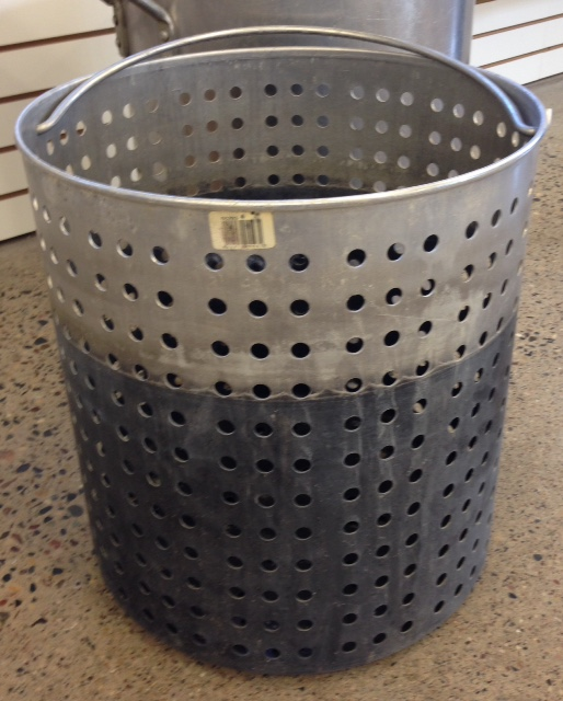 Where to find Stock Pot Strainer BASKET 80 QT in Burnsville