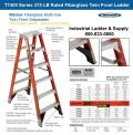 Rental store for Ladder 14 Ft Fiberglass Step Twin Front in Burnsville MN
