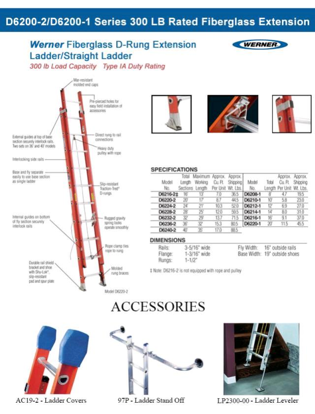 Where to find Ladder 40 Ft Fiberglass Extension in Burnsville