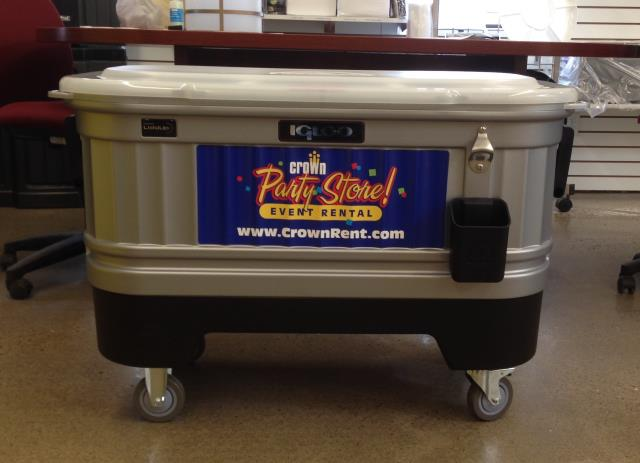 COOLER 125QT PARTY BAR Rentals Burnsville MN, Where to Rent