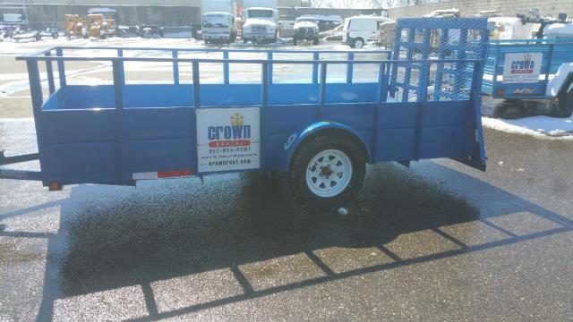 Where to find TRAILER - 5 x 12 Open Single axle in Burnsville