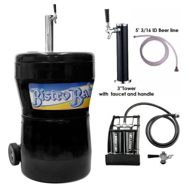 Where to find Cooler Beer Keg w foot pump in Burnsville