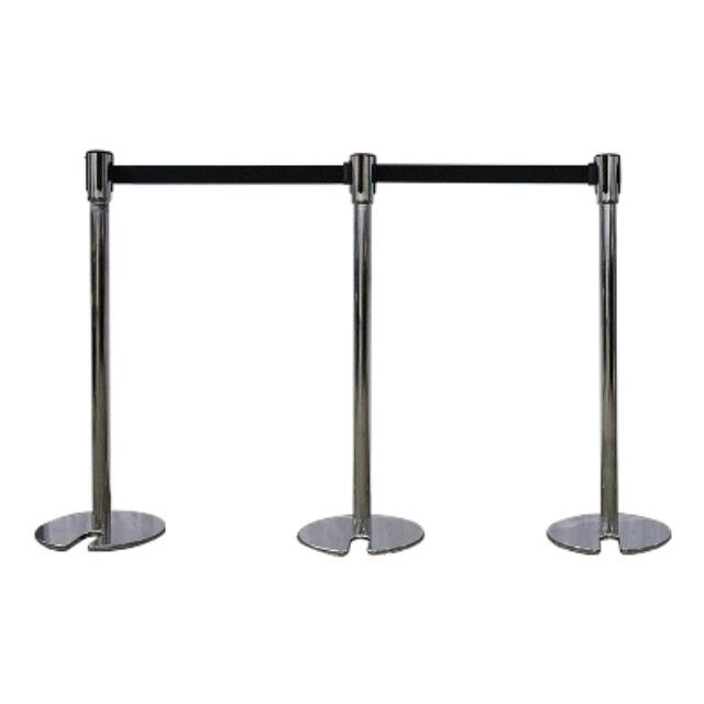 Where to find STANCHION 6  POLISHED W BLACK - STACK in Burnsville