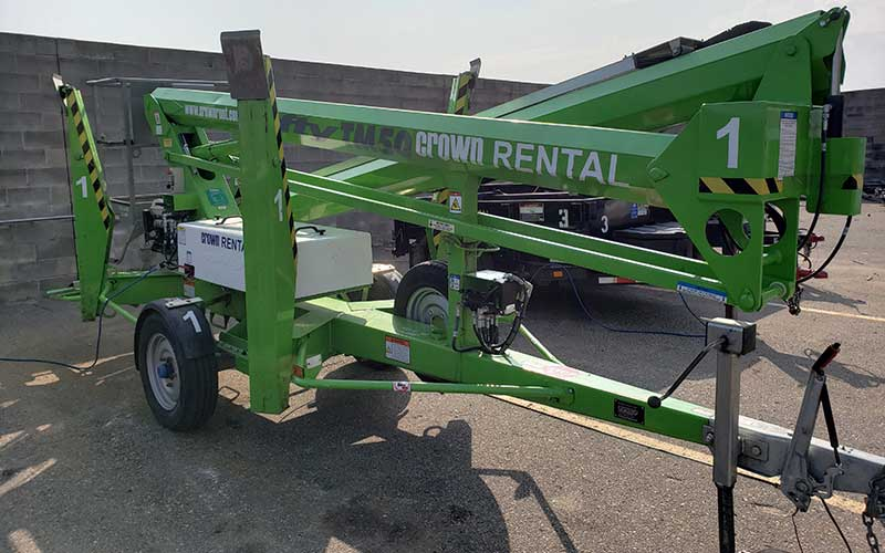 Equipment Rentals in the South Metro area